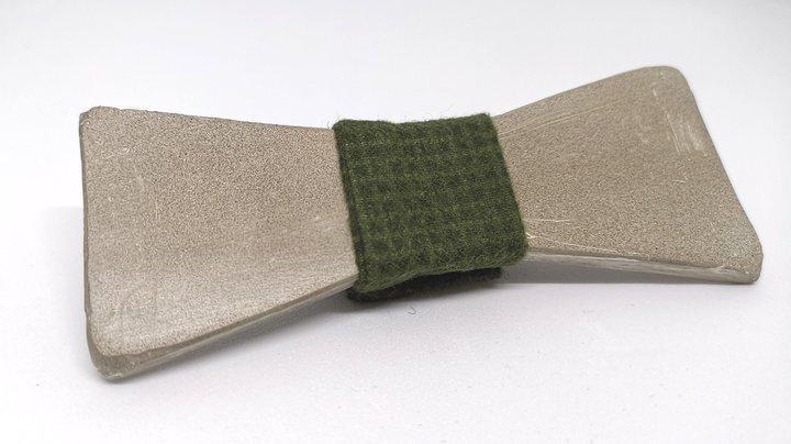 Keigave accessoire: de vlinderstrik van beton