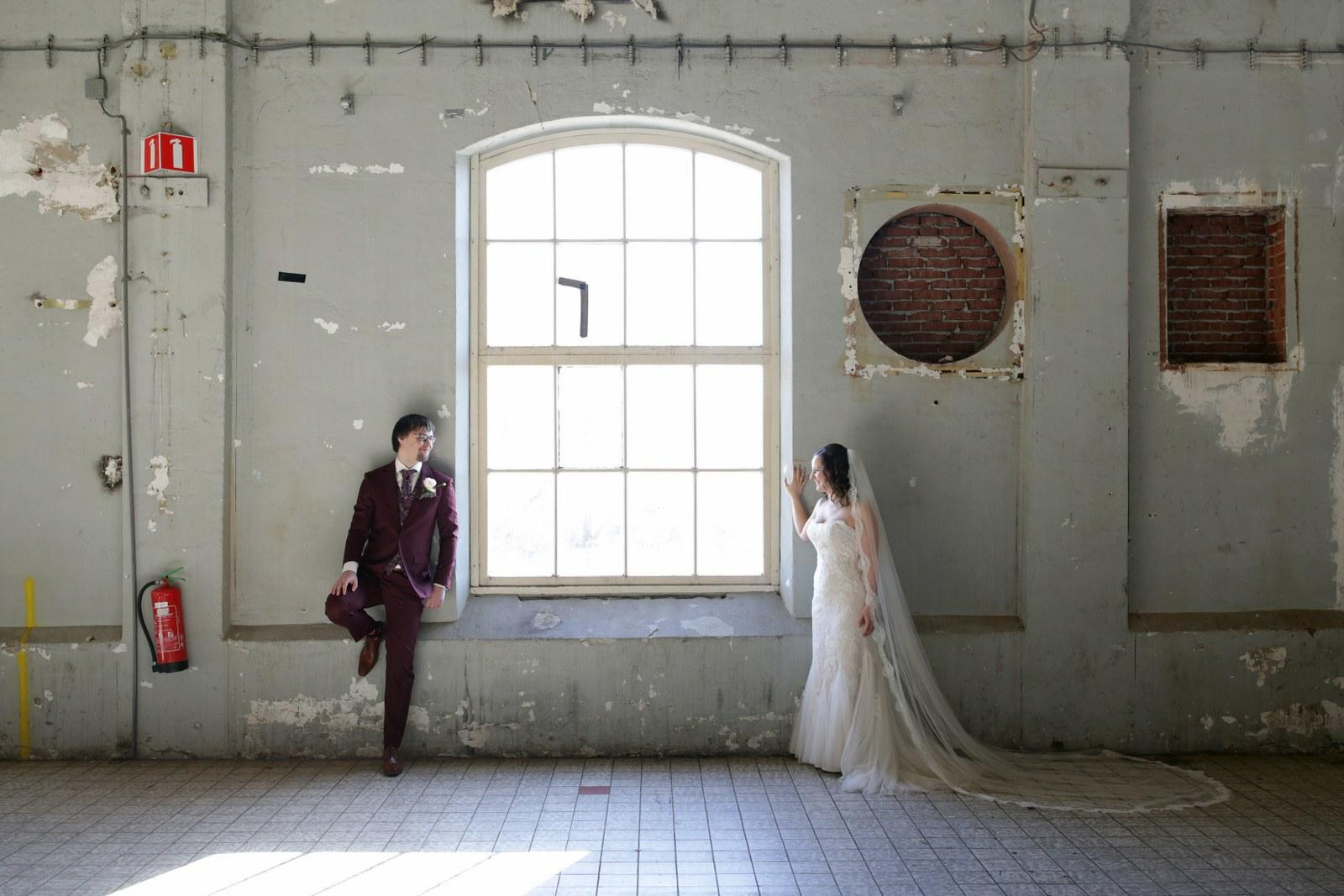 Ga voor een trouwpak dat niemand anders heeft