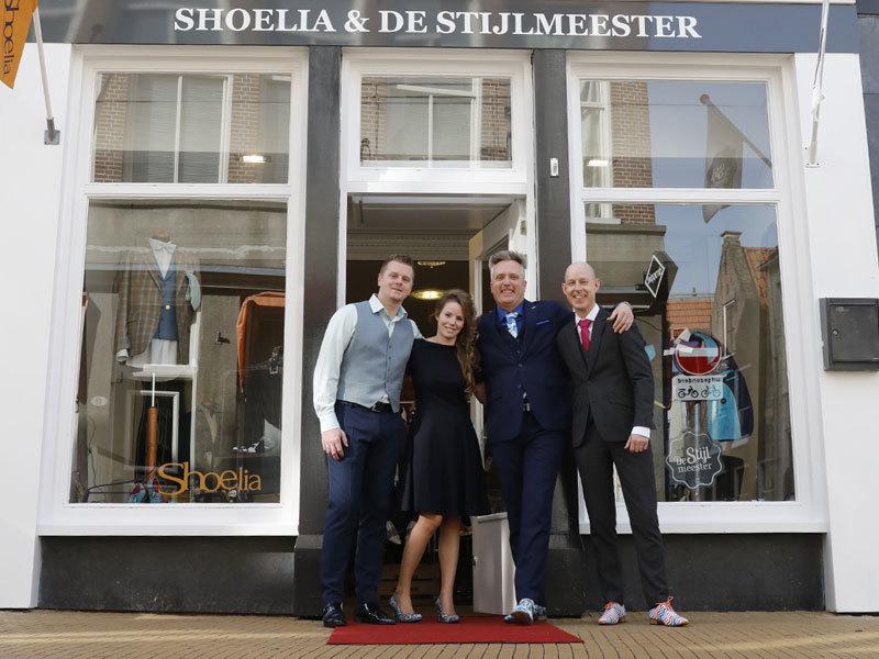 De Stijlmeester & Shoelia winkel in Groningen