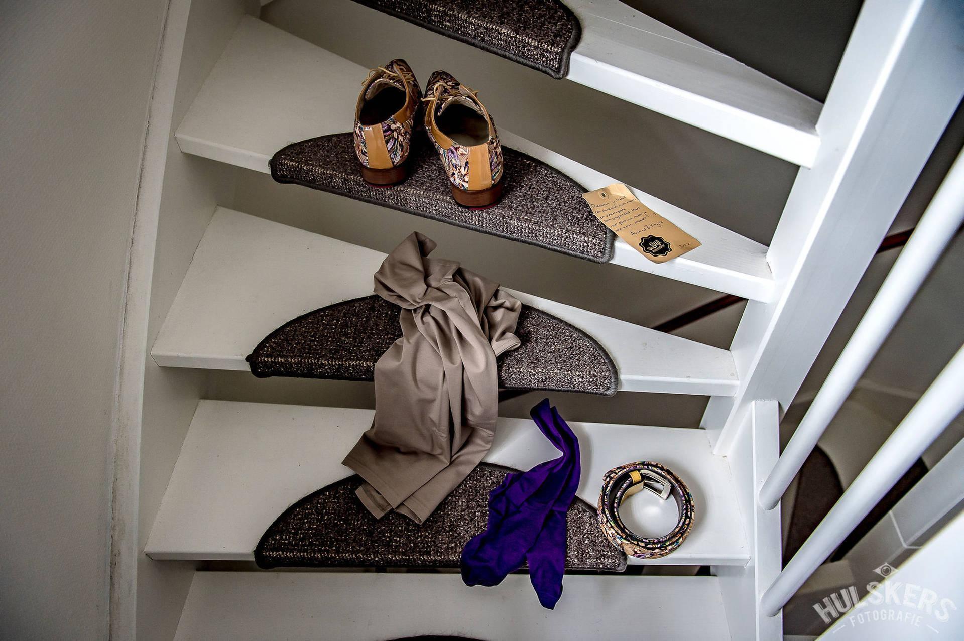 Doe iets moois met je trouwpak en schoenen