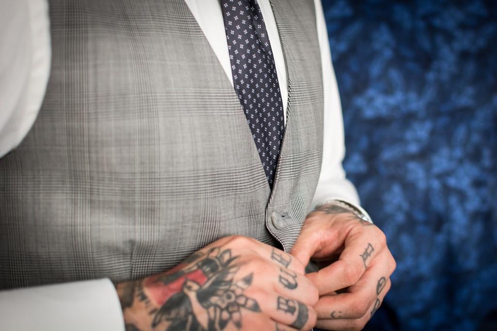 Grijs trouwpak: stoer en catchy, maar ook stijlvol