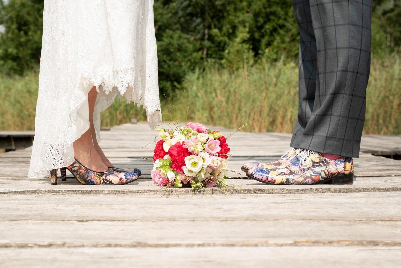 Geruite trouwpak met eigen Peaky Blinders-twist