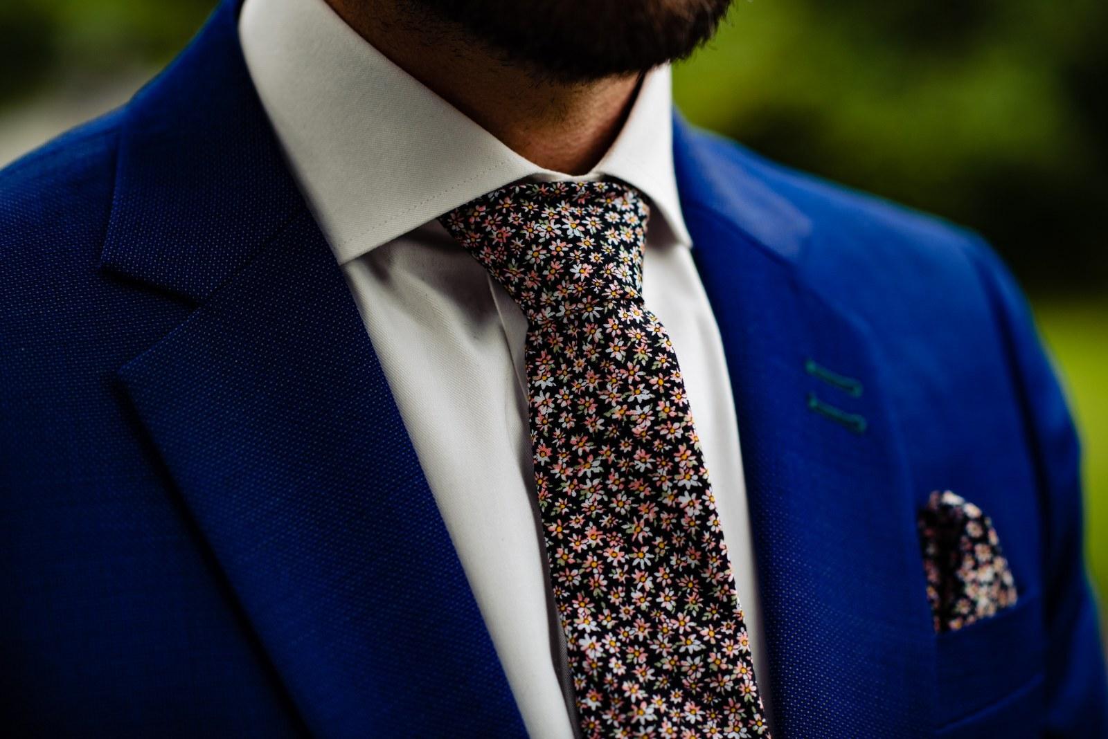 Jouw persoonlijke trouwpak met unieke das en details