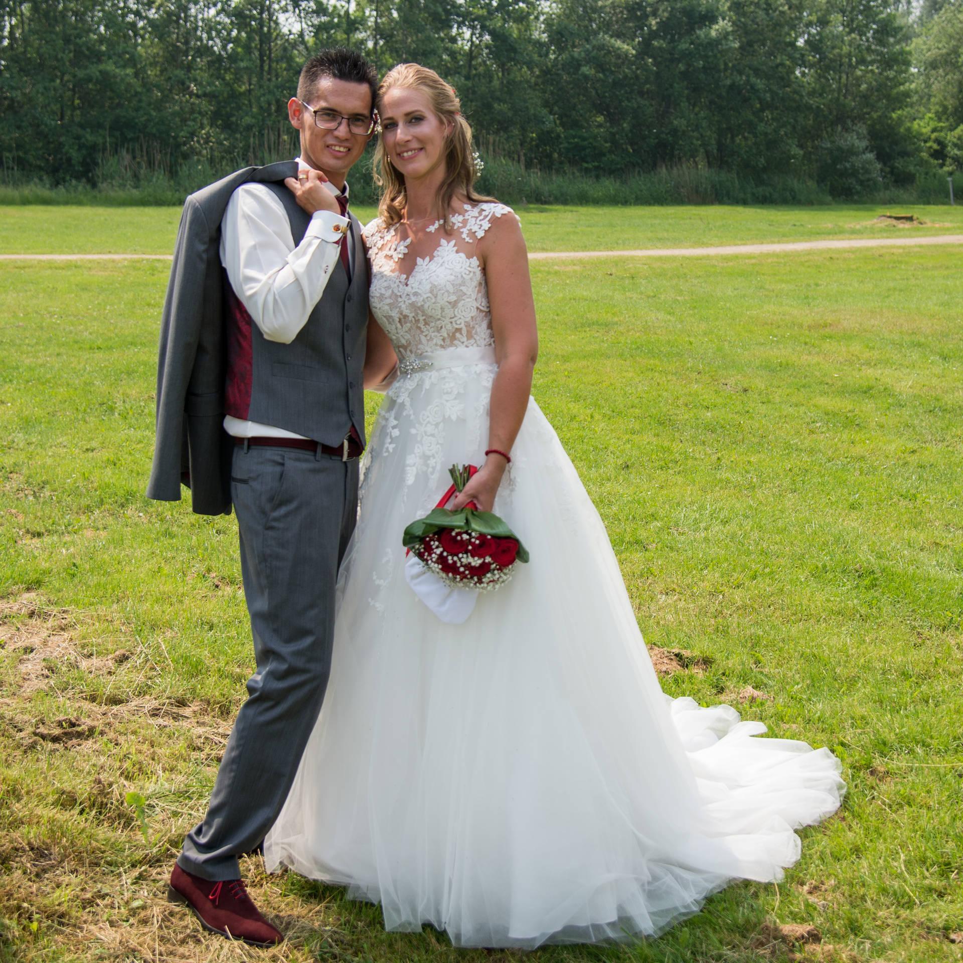 Goed afgestemd: trouwpak bruidegom en pakken vaders