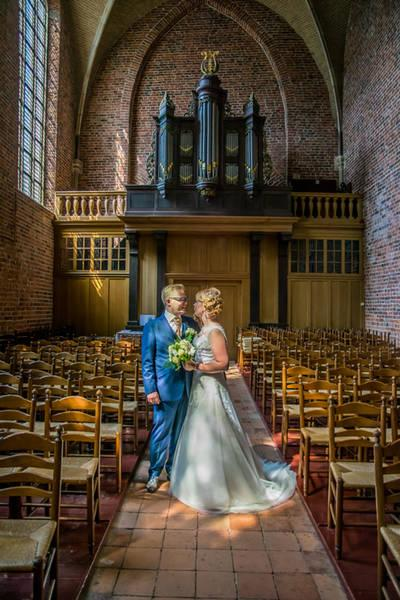 Met gouden touch: schitter in je trouwpak