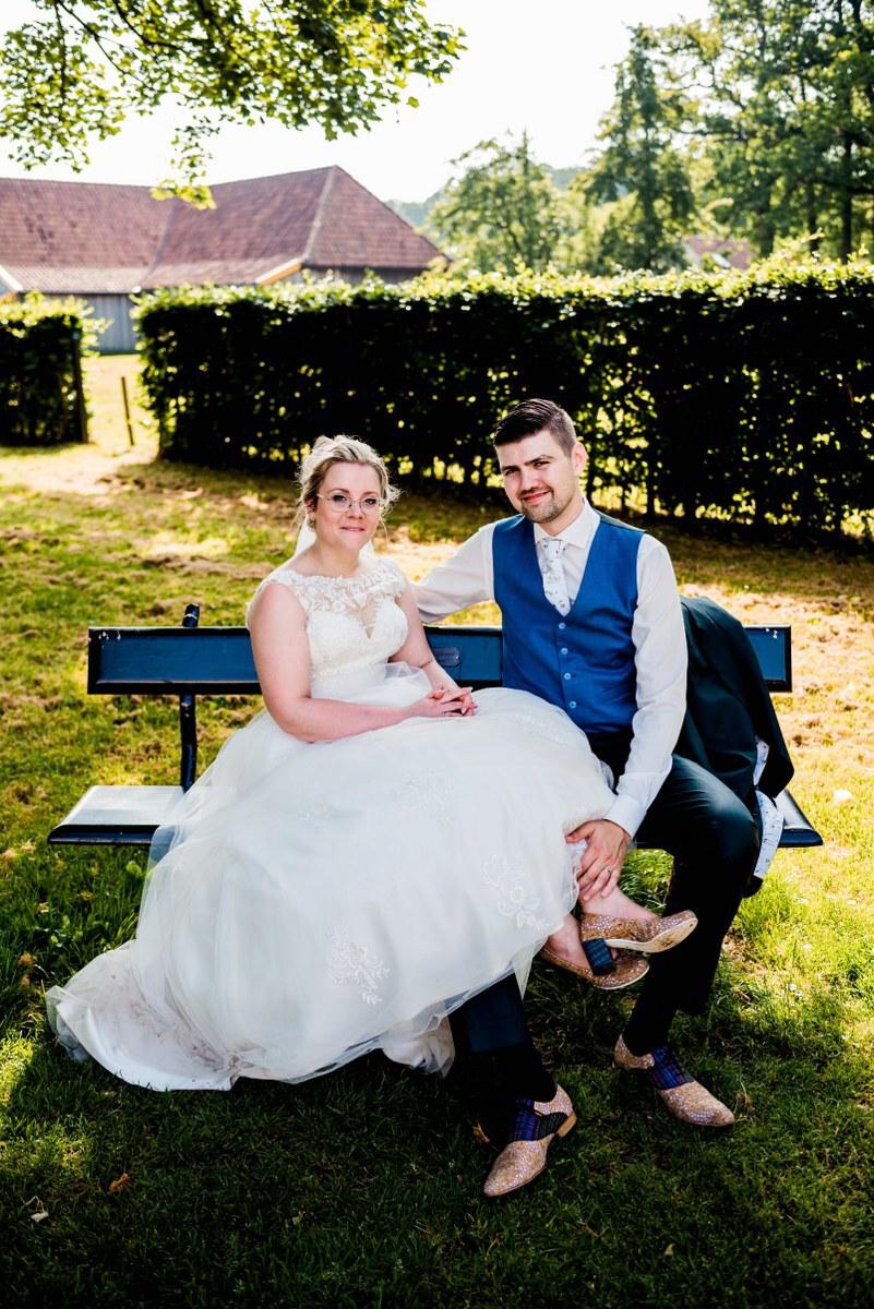 Voering en das met eigen afbeelding voor je trouwpak