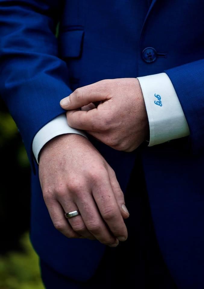 Het blauwe trouwpak: een all-time favoriet