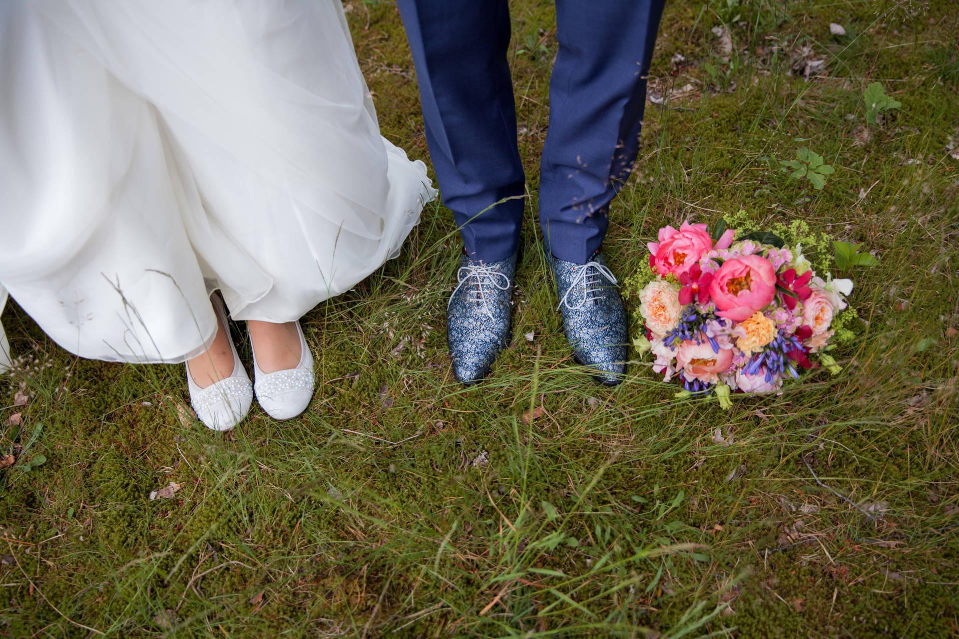 Je wilt een mooi en bijzonder blauw trouwpak?