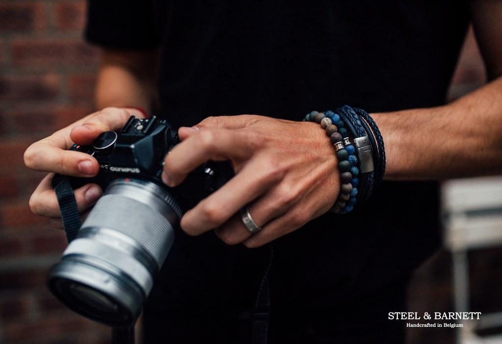 Stijlvolle armbanden van STEEL & BARNETT