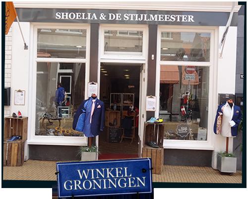 De winkel in Groningen samen met Shoelia